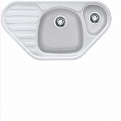 Franke Zlewozmywak CALYPSO COG 651 E biały polarny.